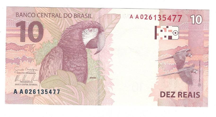 2010 10 REAIS BRAZIL